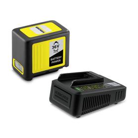 Zestaw: szybka ładowarka 36 V + bateria 36 V / 5.0 Ah
